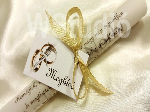 esküvői meghívó Budapest